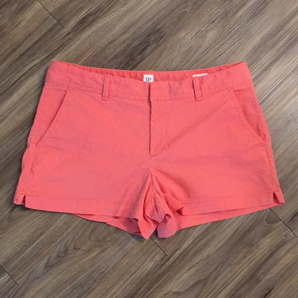 GAP Pants - GAP Salmon Color Chino Shorts